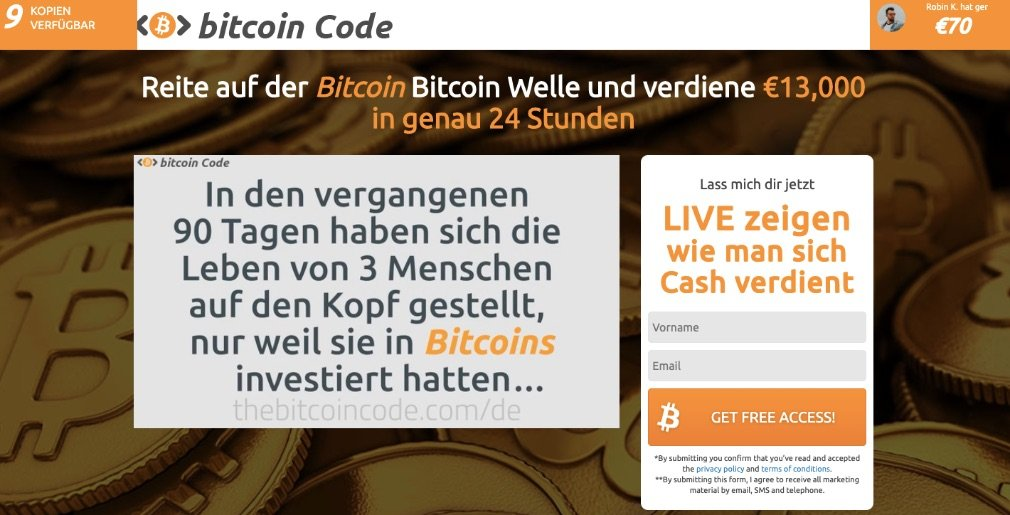 Bitcoin Code experiences and test