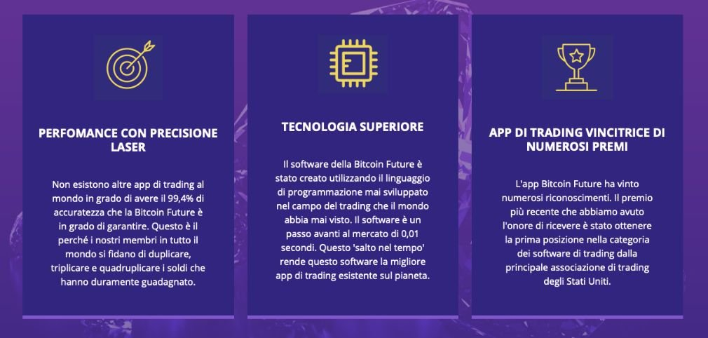 Bitcoin Future benefici