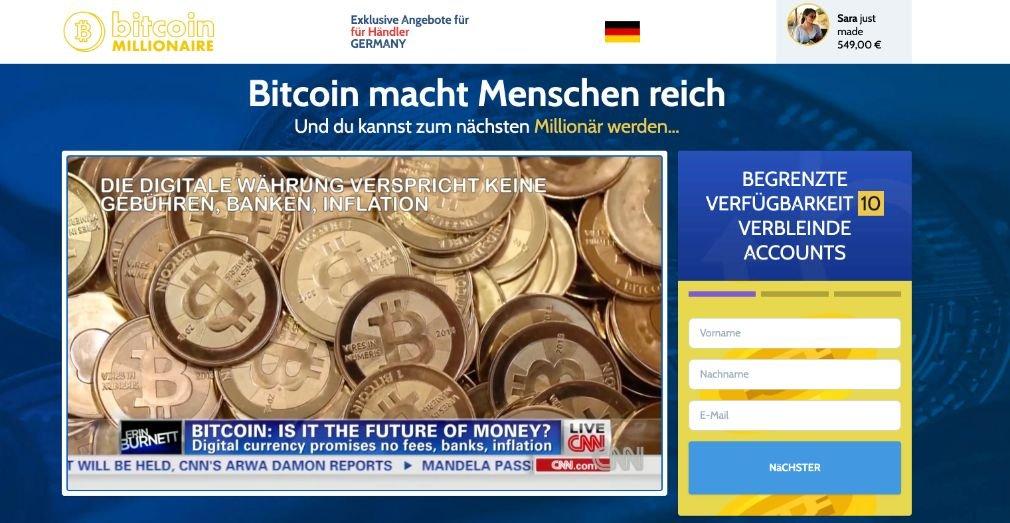 Bitcoin Millionaire Erfahrungen und Test