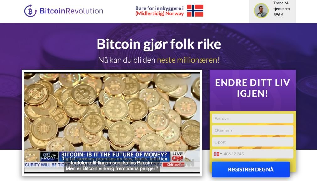 Bitcoin Revolution Svindel