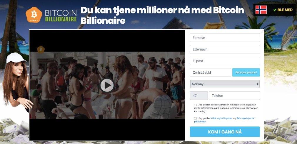 Bitcoin Billionaire Svindel