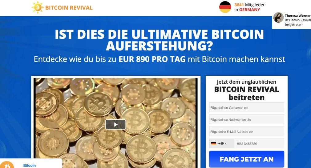 Bitcoin Revival experiences and test