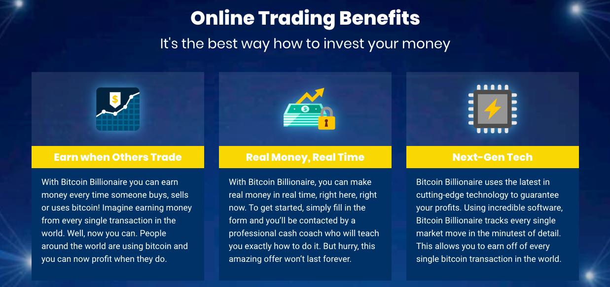 Bitcoin Billionaire avantage