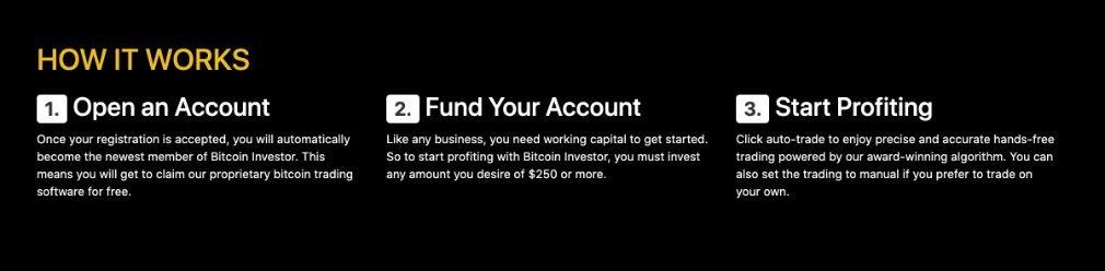 Bitcoin Investor hoe het werkt