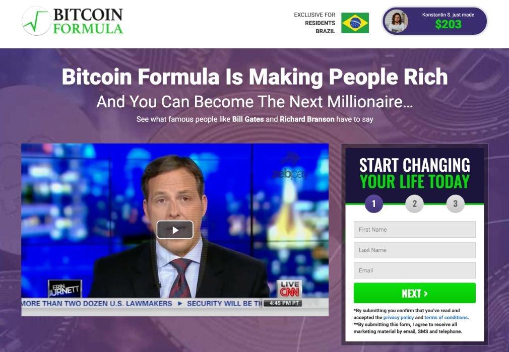 Bitcoin Formula Opiniões
