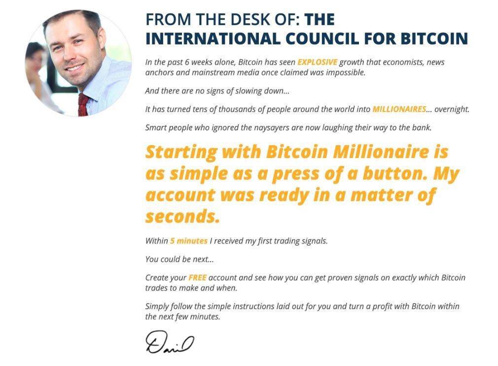Bitcoin Millionaire sukces
