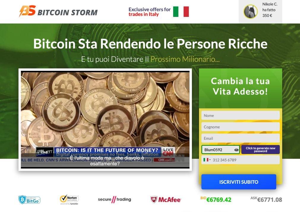 Bitcoin Storm Opinioni
