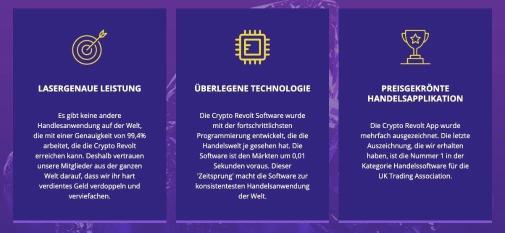 Crypto Revolt Vorteile
