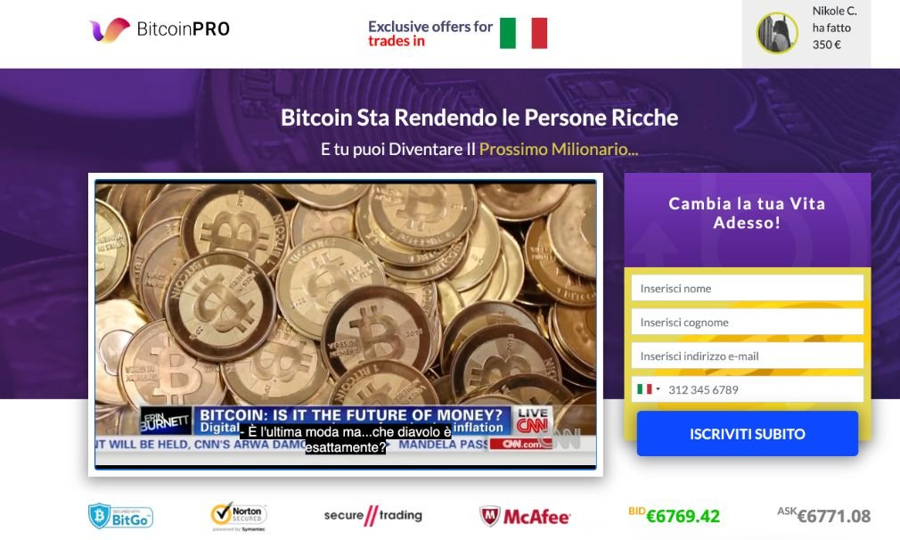 Bitcoin Pro Opinioni