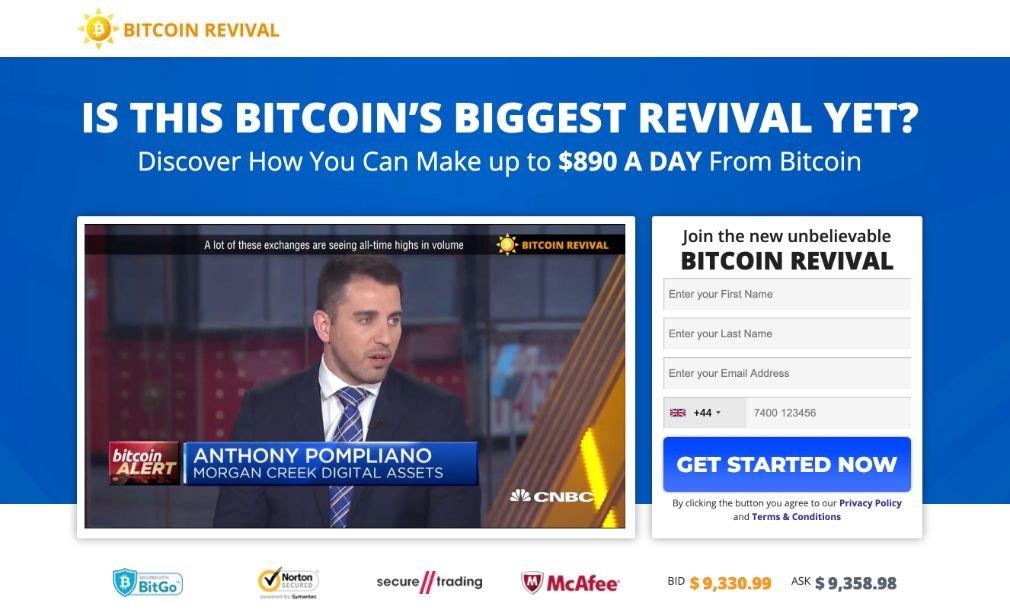Bitcoin Revival - Demo Account