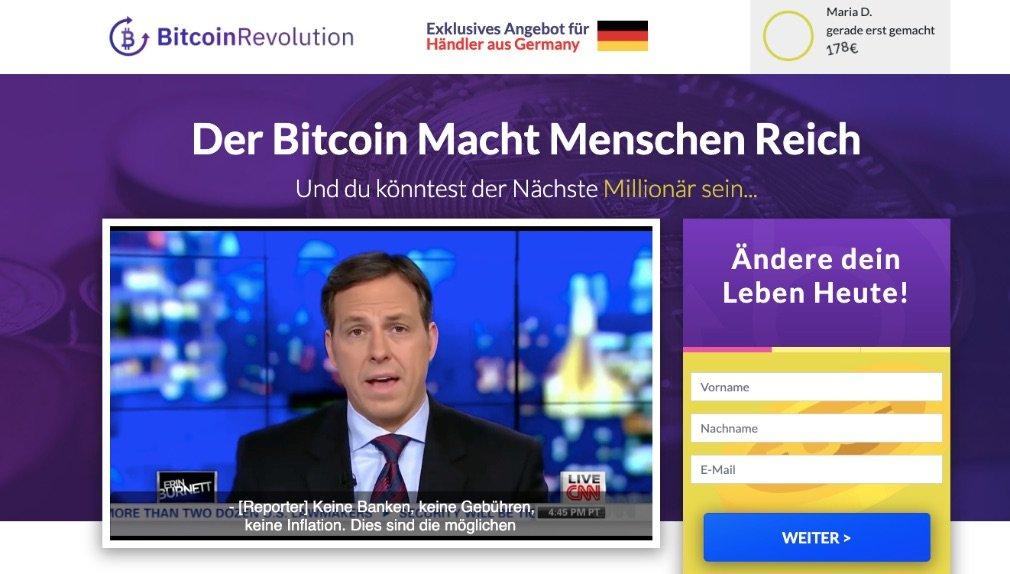 Bitcoin Revolution Erfahrungen und Test