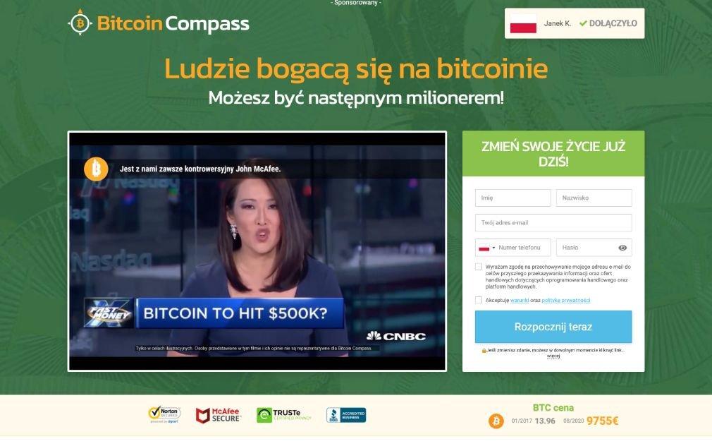 Bitcoin Compass Oszustwo