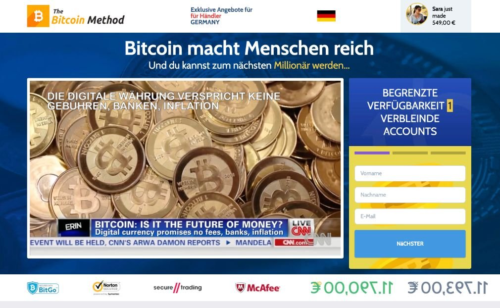 Bitcoin-menetelmän kokemus ja testi