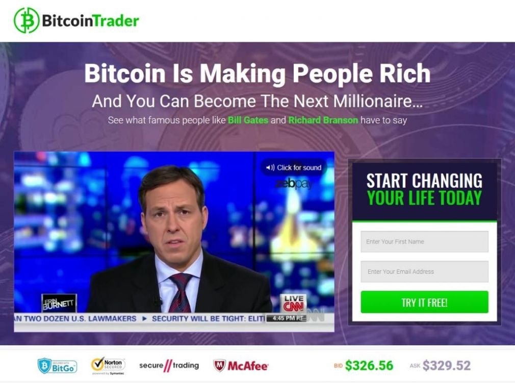 Bitcoin Trader - What is the minimum stake?