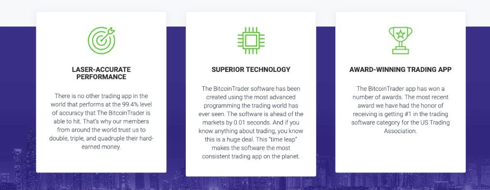 Bitcoin Trader - how does the deposit work?