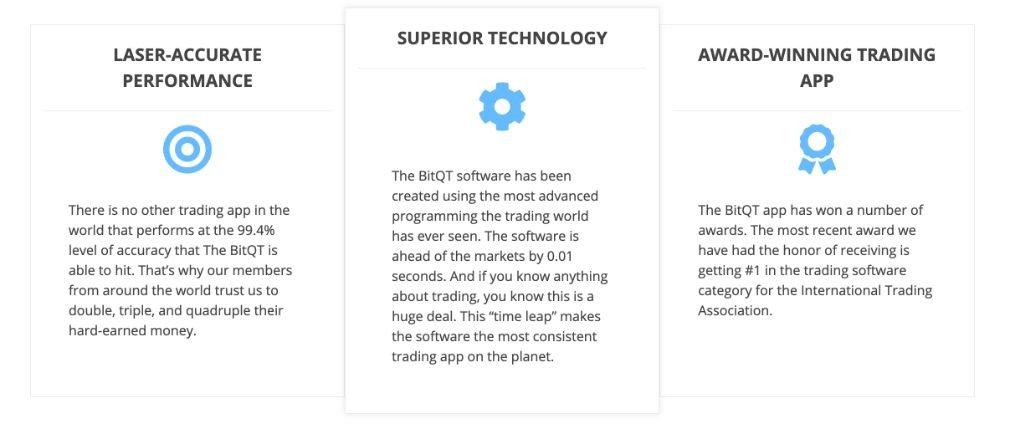 BitQT avantage