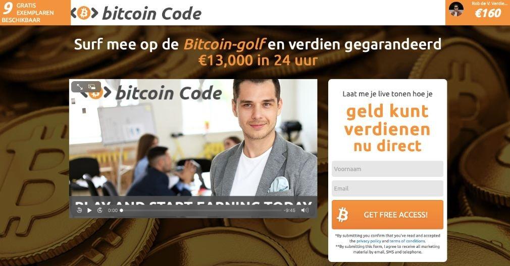 Bitcoin Code Ervaringen & Reviews