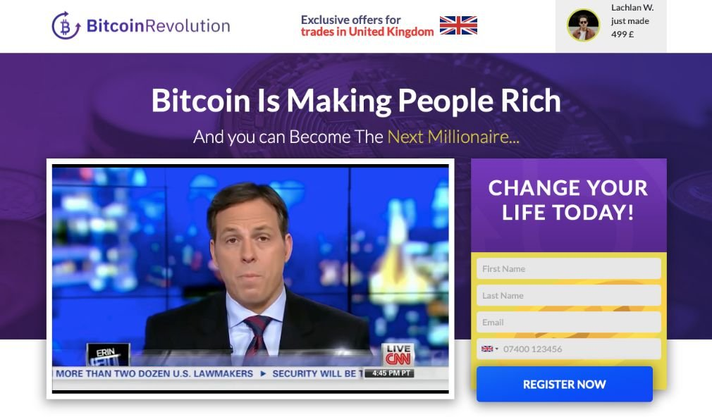 Bitcoin Revolution - Costs and fees