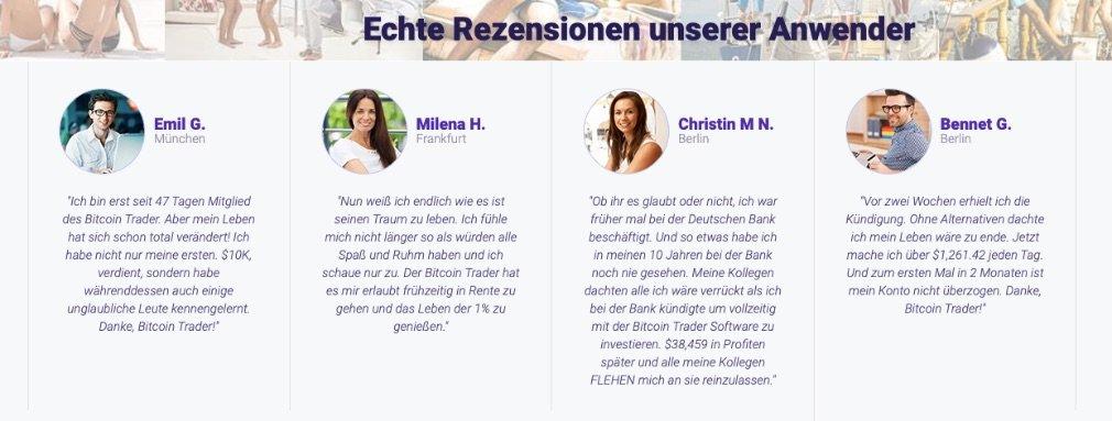 Bitcoin Trader users