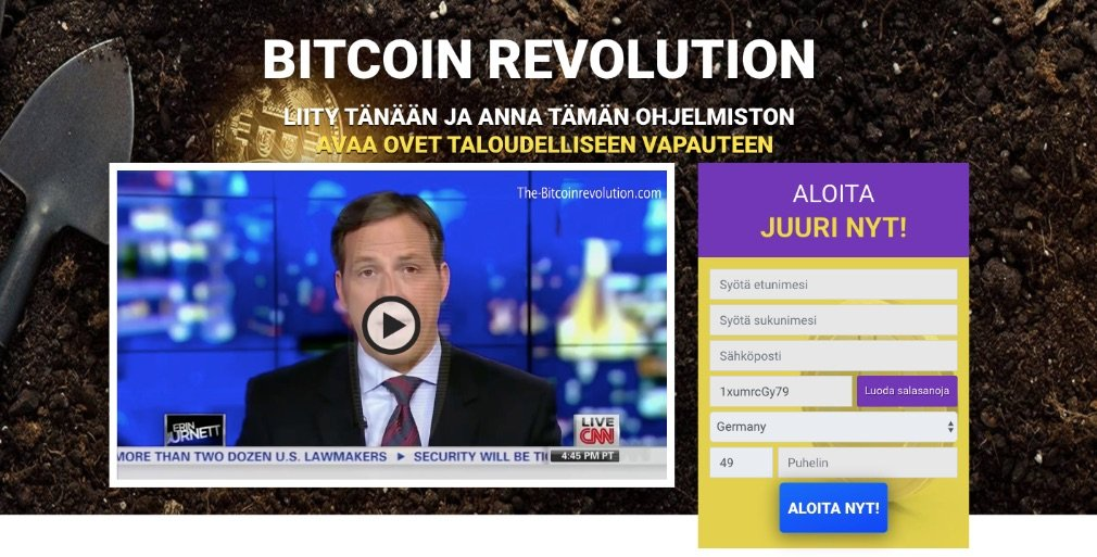 Bitcoin Revolution arvostelu