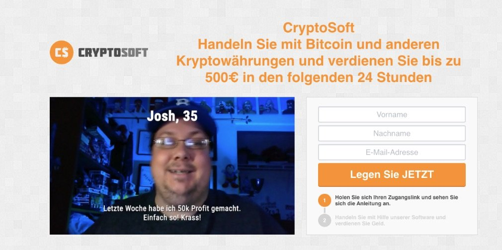 Cryptosoft experience and test