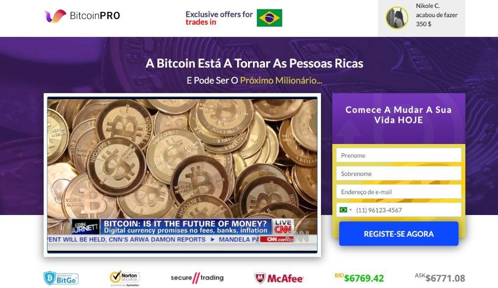 Bitcoin Pro Opiniões