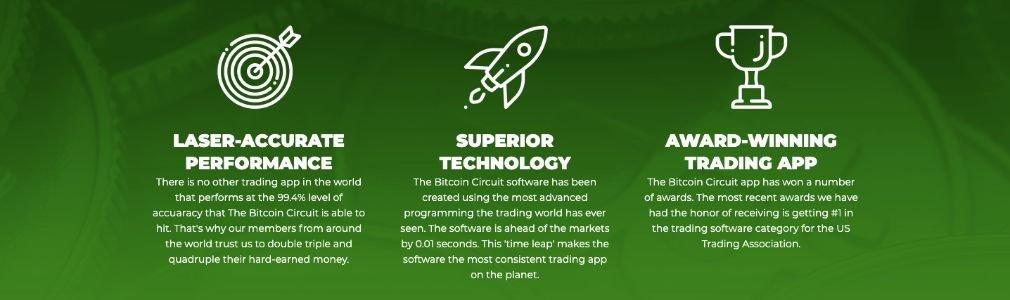 Bitcoin Circuit avantage