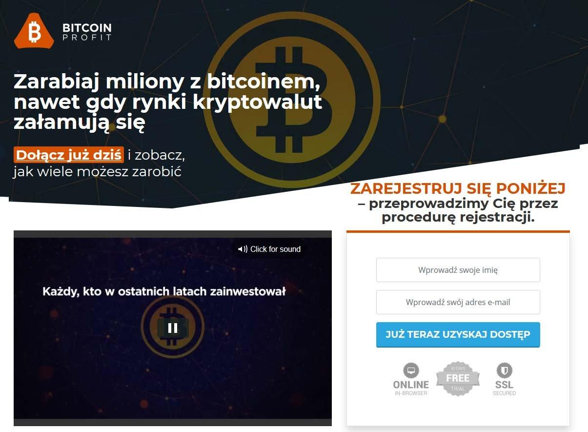 Bitcoin Profit oszustwo