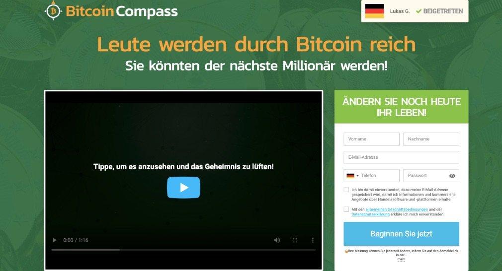 Bitcoin Compass Erfahrungen und Test