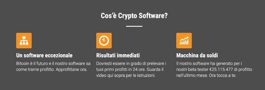 Cryptosoft benefici