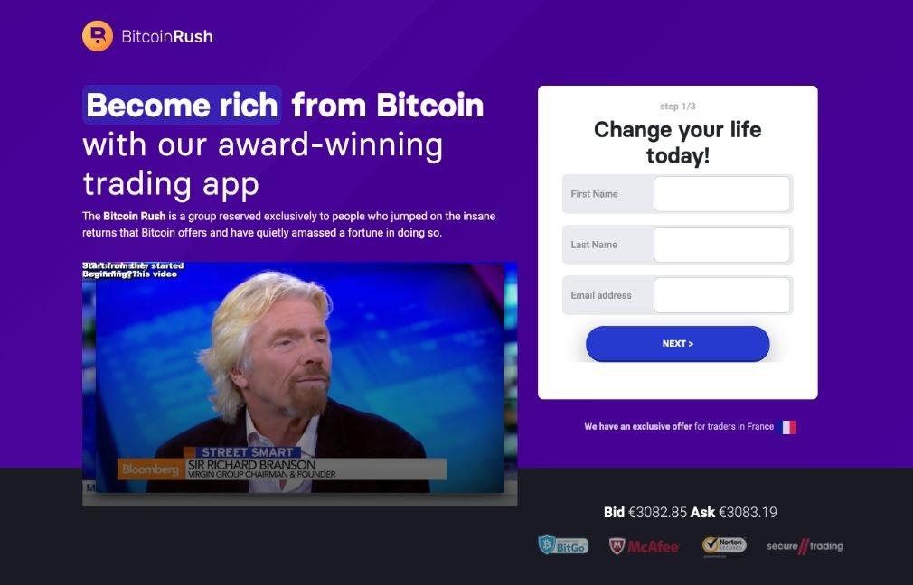 Bitcoin Rush avis
