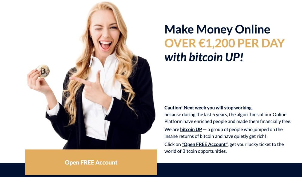 Bitcoin UP fordeler